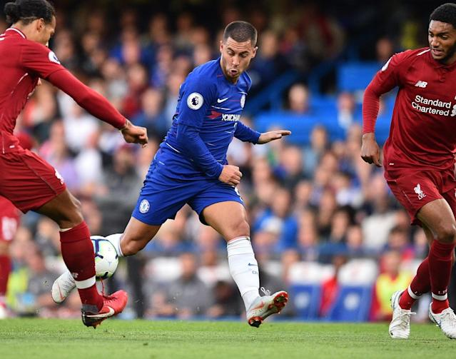 Hazard has again been brilliant so far this season for Chelsea