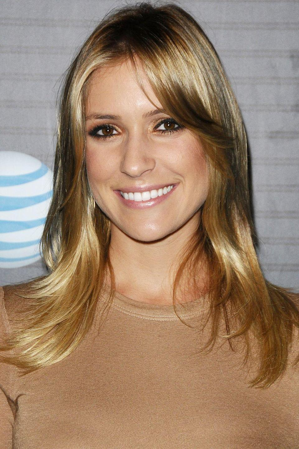 """<p><strong>Blackberry Torch Launch Party, 2010</strong></p><p>""""This is actually right when I met [husband] Jay [Cutler], because I met him when my hair was a little darker. The dark was fun, but I do like myself better blonde. [Cutler] likes me better blonde [too].""""</p><span class=""""copyright"""">Photo: Jason LaVeris.</span>"""