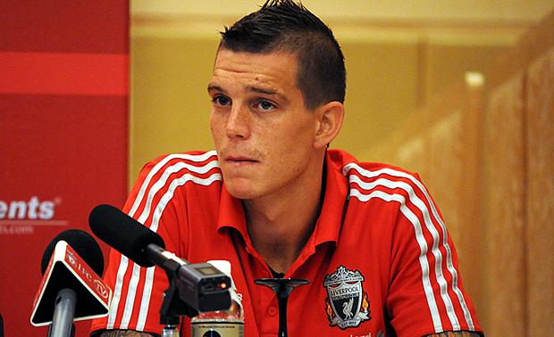 Daniel Agger: Looking for first-team football at Liverpool. (Yahoo! photo/ Ewen Boey)