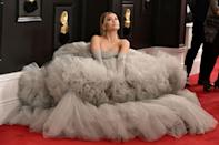 """<p><a href=""""https://www.elle.com/uk/life-and-culture/culture/a30674202/ariana-grande-grammys-thank-u-next-lyrics/"""" rel=""""nofollow noopener"""" target=""""_blank"""" data-ylk=""""slk:Ariana Grande"""" class=""""link rapid-noclick-resp"""">Ariana Grande</a> is an inspiration in many ways. </p><p>From her show-stopping red carpet princess gowns (<a href=""""https://www.elle.com/uk/fashion/g30672026/grammy-awards-best-red-carpet-looks-dresses/"""" rel=""""nofollow noopener"""" target=""""_blank"""" data-ylk=""""slk:Hello to that Giambattista Valli couture dress at the 2020 Grammys"""" class=""""link rapid-noclick-resp"""">Hello to that Giambattista Valli couture dress at the 2020 Grammys</a>), to the incredible vocal range, ability to be vulnerable in her songwriting, to the consistently honest conversations she has with her fans, there's a reason Grande is one of the most beloved artists on the planet.</p><p>Another way in which fans use her for inspiration is body art.</p><p>Yes. The 26-year-old's tattoo collection attracts roughly 12,100 internet searches in the UK and 90,500 in the US on a monthly basis, according to our experts.</p><p>Over the years, Grande has amassed a sizeable collection of of intricate and personal inkings, so many in fact that if we're honest we're not sure we've covered them all here.</p><p>She's even incorporated her love of body ink into her hit song '7 Rings' with the lyric: 'Girls with tattoos who like getting in trouble'.</p><p>Here's a complete guide to Grande's tattoo collection, from the dates to the inspiration to the artist...</p>"""