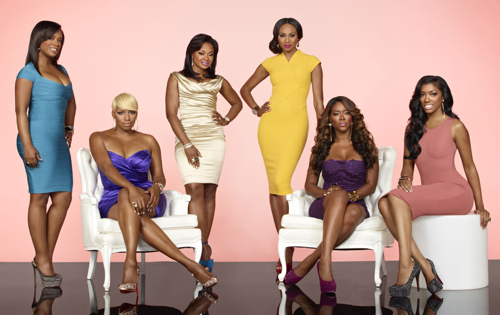 """The cast of """"The Real Housewives of Atlanta"""" Season 5."""