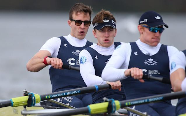 William Warr will become the third man to row for both universities in the boat race when he competes for Oxford - Getty Images Europe
