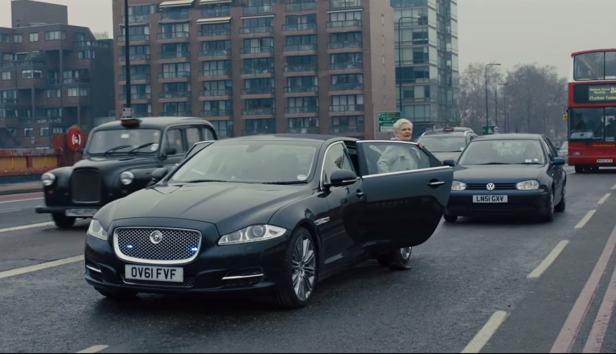 The Jaguar XJL is traditional English luxury with sexy