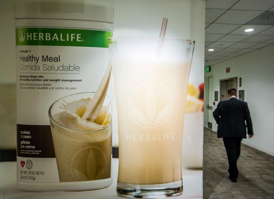 An area of the Herbalife corporate office in Los Angeles in 2016.  (Photo: Damian Dovarganes/AP)