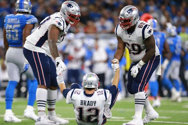 The Patriots are down, but for how long? (Getty)