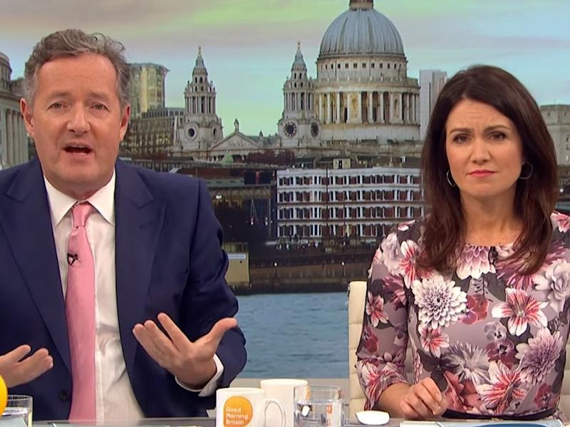 Piers Morgan and Susanna Reid (ITV)