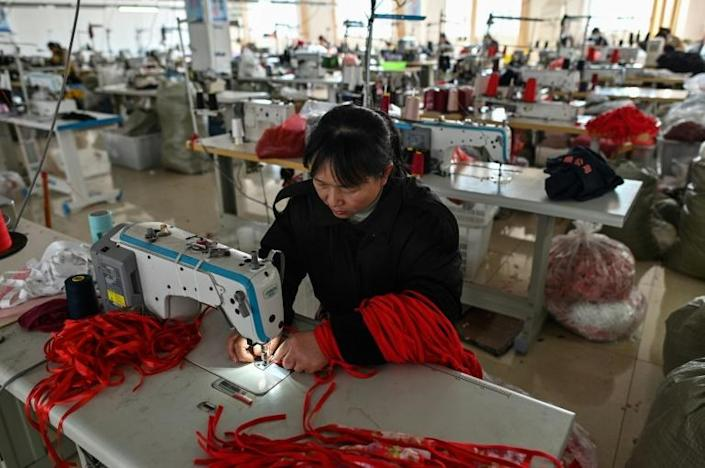 Guanyun county is China's self-proclaimed 'Lingerie Capital', where sewing machines hum in village-level micro-factories to meet demand at home and abroad