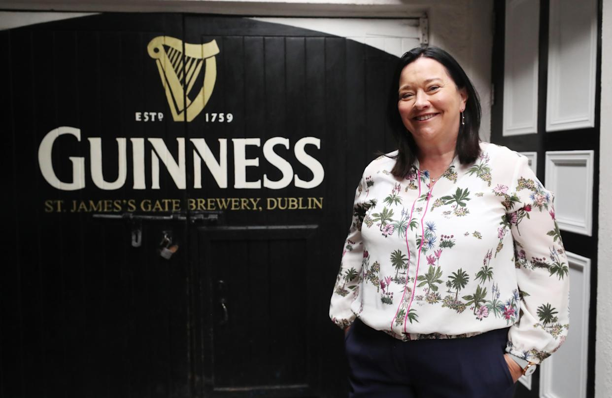 Guinness global brand manager Grannie Wafer (Niall Carson/PA)