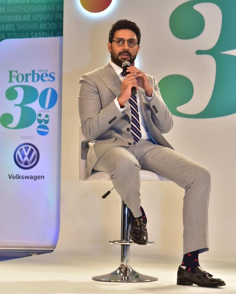 Bachchan Junior makes rare appearances on the silver screen these days; his last release was the 2018 release, <em>Manmarziyaan. </em>But don't make his dwindling filmography convince you that the <em>Raavan </em>star is not busy enough<em>. </em>Abhishek ventured into sports and bought the Pro Kabaddi League franchise team Jaipur Pink Panthers in 2014. He also co-owns the Indian Super League football team Chennaiyin FC. When not cheering for his team, the father of one stays busy shooting for the brands he endorses and playing the dotting father he is.
