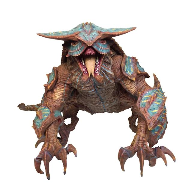 <p>The kaiju have clearly grown a lot in the 10-year gap that separates <em>Pacific Rim </em>and <em>Pacific Rim: Uprising</em>. This giant Hakuja marks the next stage in creature-feature evolution. (Photo: Diamond Select Toys) </p>