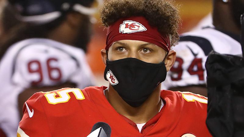 Kansas City Chiefs quarterback Patrick Mahomes has been vocal in his support for the NFL's social justice moves. (Photo by Jamie Squire/Getty Images)