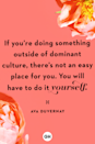 <p>If you're doing something outside of dominant culture, there's not an easy place for you. You will have to do it yourself.</p>