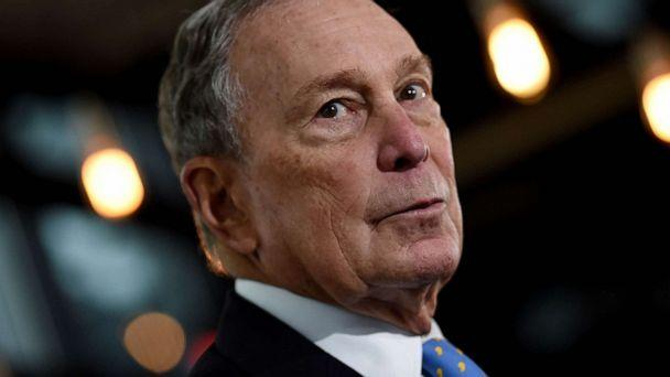 PHOTO: Former New York Mayor and Democratic presidential candidate Michael Bloomberg speaks about his plan for clean energy during a campaign event at the Blackwall Hitch restaurant in Alexandria, Va., Dec. 13, 2019. (Olivier Douliery/AFP/Getty Images)