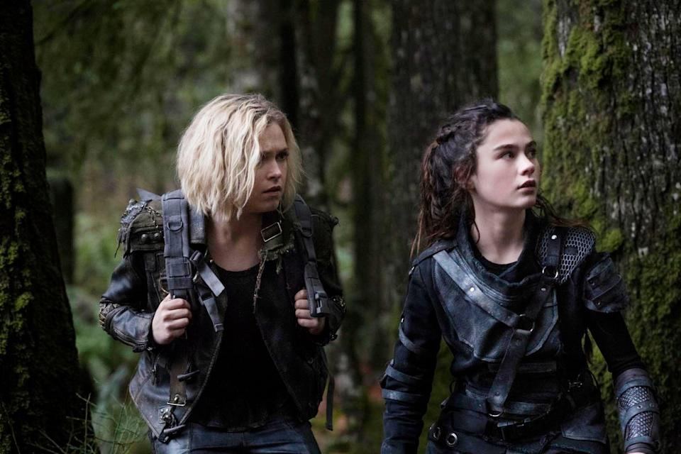 """<p>After civilization on Earth is completely destroyed, a group of teenagers are sent to see if it is at all inhabitable. The group is held together by Clarke Griffin, a fierce girl who's just trying to figure things out for herself, and basically all of humanity.</p> <p>Watch <a href=""""https://www.netflix.com/title/70283264"""" class=""""link rapid-noclick-resp"""" rel=""""nofollow noopener"""" target=""""_blank"""" data-ylk=""""slk:The 100""""><strong>The 100</strong></a> on Netflix now.</p>"""