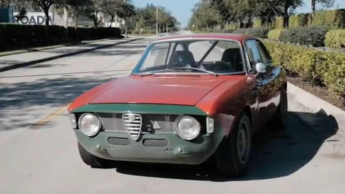 Check Out This Alfa Romeo GTA Hotrod