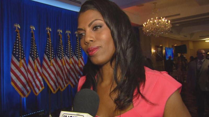 Trump campaign taking legal steps against Omarosa