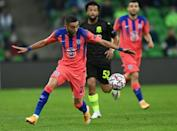 Hakim Ziyech starred for Chelsea on his first start in their 4-0 win over Krasnodar in Russia