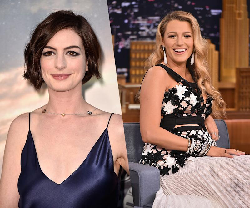 Anne Hathaway and Blake Lively Have An Important Message ...
