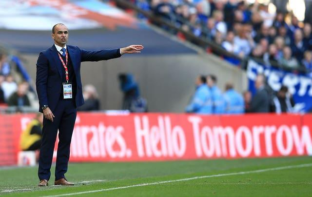 Everton's best Premier League finish under Martinez was fifth, in his first season in charge