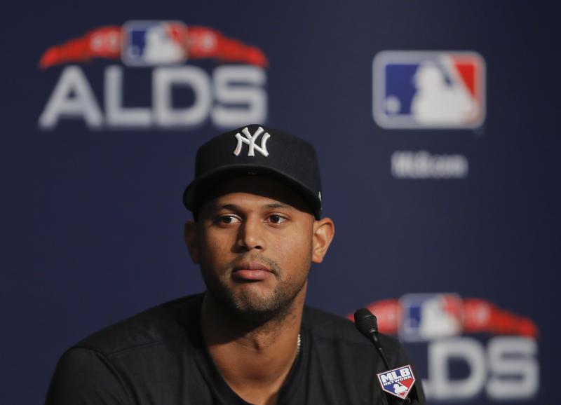 Yankees' Sabathia on ump Hernandez: 'Absolutely terrible'