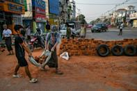 International pressure has been building steadily since the military ousted and detained civilian leader Aung San Suu Kyi on Feburary 1, triggering daily demonstrations around the country