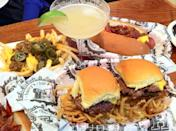 """<p><a href=""""http://www.harrysbarburger.com"""" rel=""""nofollow noopener"""" target=""""_blank"""" data-ylk=""""slk:Harry's Bar & Burger"""" class=""""link rapid-noclick-resp"""">Harry's Bar & Burger</a>, Providence</p><p>""""The sweet potato fries are the best I've had and go great with the Crunch Burger or MOAB."""" - Foursquare user <a href=""""https://foursquare.com/user/174367214"""" rel=""""nofollow noopener"""" target=""""_blank"""" data-ylk=""""slk:Samantha Ebenschweller"""" class=""""link rapid-noclick-resp"""">Samantha Ebenschweller</a> </p>"""