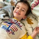 """<p>Jimmy Kimmel and Molly McNearney's son <a href=""""https://people.com/parents/jimmy-kimmel-baby-open-heart-surgery/"""" rel=""""nofollow noopener"""" target=""""_blank"""" data-ylk=""""slk:William &quot;Billy&quot; John"""" class=""""link rapid-noclick-resp"""">William """"Billy"""" John</a> turned 4 on April 21.</p>"""