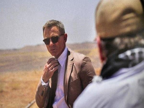 A still shared by Daniel Craig from 'No Time To Die' (Image courtesy: Instagram)