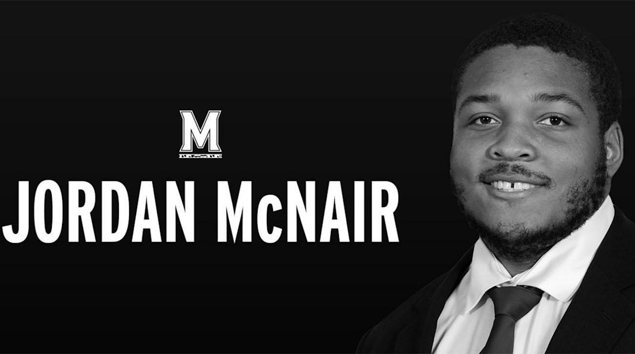 COLLEGE PARK Md AP Members of the Maryland football team will wear a helmet sticker with No 79 to honor former teammate Jordan McNair who