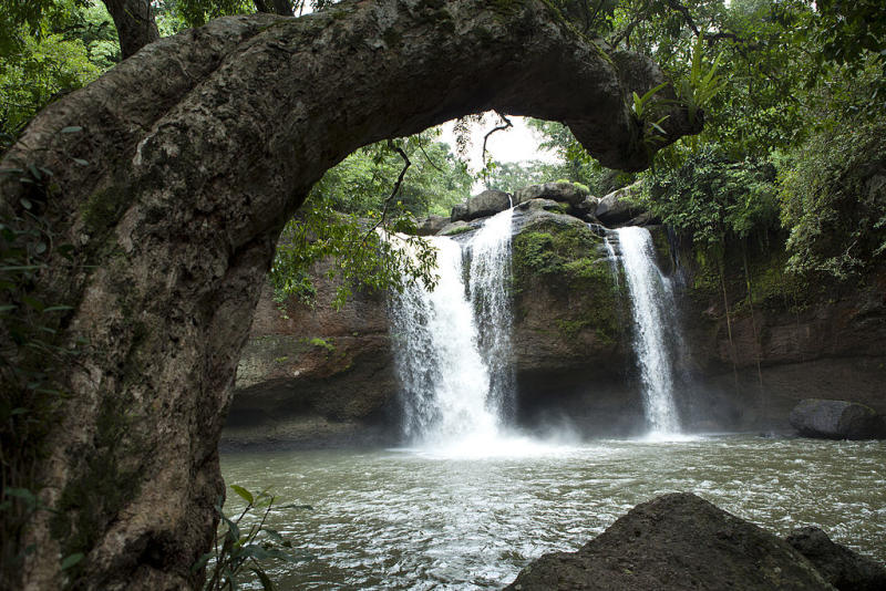 A waterfall in the Kaho Yai National Park. Source: Getty