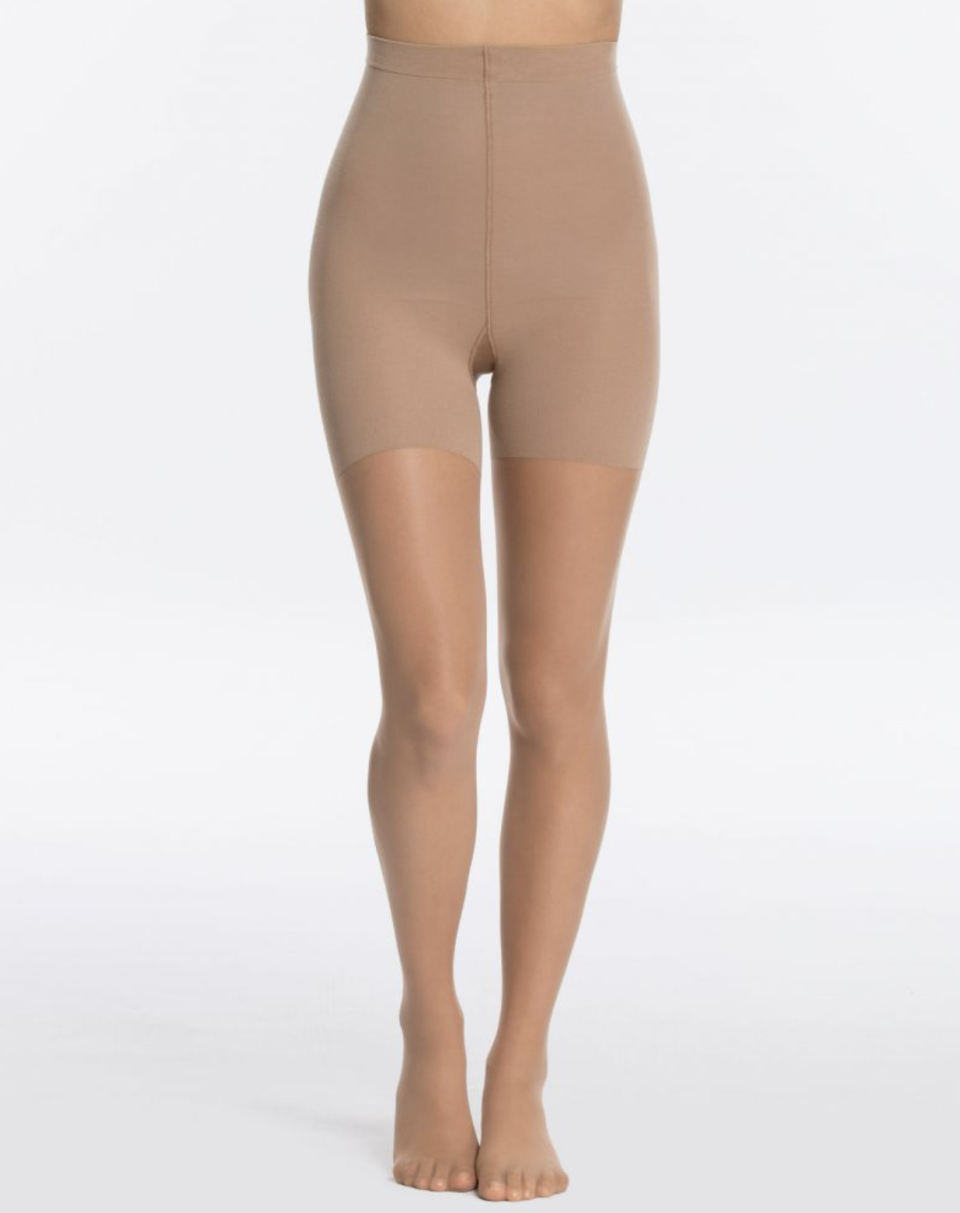 Luxe Leg Mid-Thigh Shaping Sheers in Naked 3.0 (Photo via Spanx)