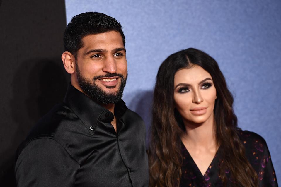 Amir Khan and Faryal Makhdoom have copped criticism from both outside and inside their own family. Photo: Getty Images