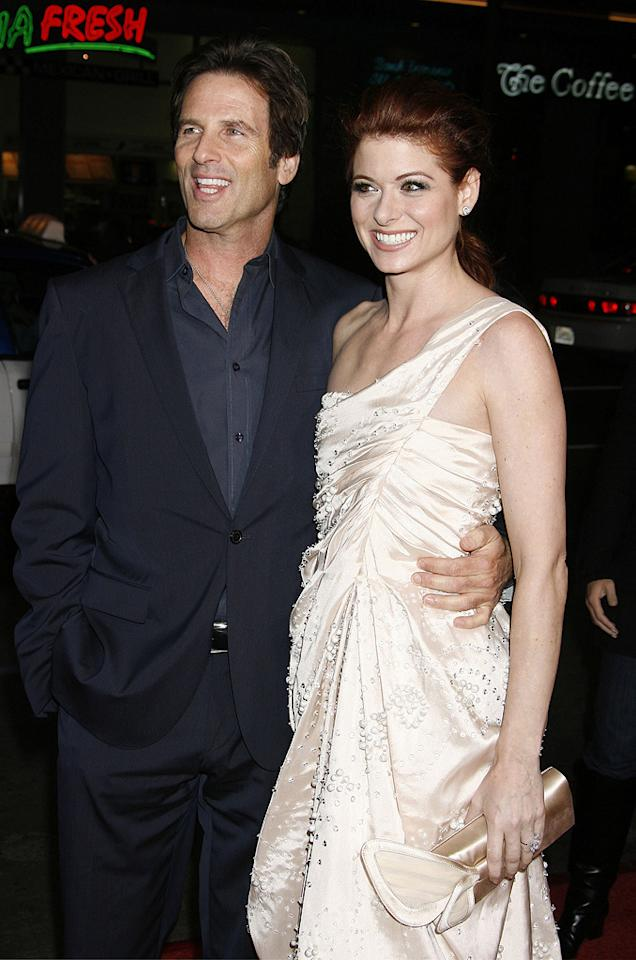 """<a href=""""http://movies.yahoo.com/movie/contributor/1800020301"""">Hart Bochner</a> and <a href=""""http://movies.yahoo.com/movie/contributor/1802866877"""">Debra Messing</a> at the Los Angeles premiere of <a href=""""http://movies.yahoo.com/movie/1809991685/info"""">Nothing Like the Holidays</a> - 12/03/2008"""