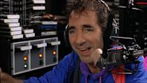 """<p>Harry Shearer's douchebag DJ makes for a terrible host when he's interviewing Wayne and Garth about WayneStock. As the conversation continues, it becomes clear he's not listening to a word they're saying and is just responding with random """"Mm-hmms"""" and """"Uh-huhs"""". Wayne responds: """"I could say anything to you now, like 'You're a complete tool'."""" Uh-huh.(Credit: Paramount Pictures) </p>"""