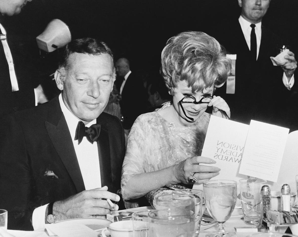 <p>Lucille Ball was presenting an award on stage when she realized she forgot her glasses. She ended up calling someone up from the audience to bring her the spectacles so she could read her lines. It's unclear if it was a skit or not, but either way, it was hilarious. </p>