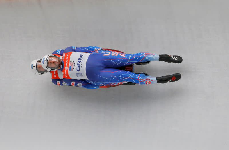 Luge: U.S. team sitting out World Cup events in Europe due to COVID-19