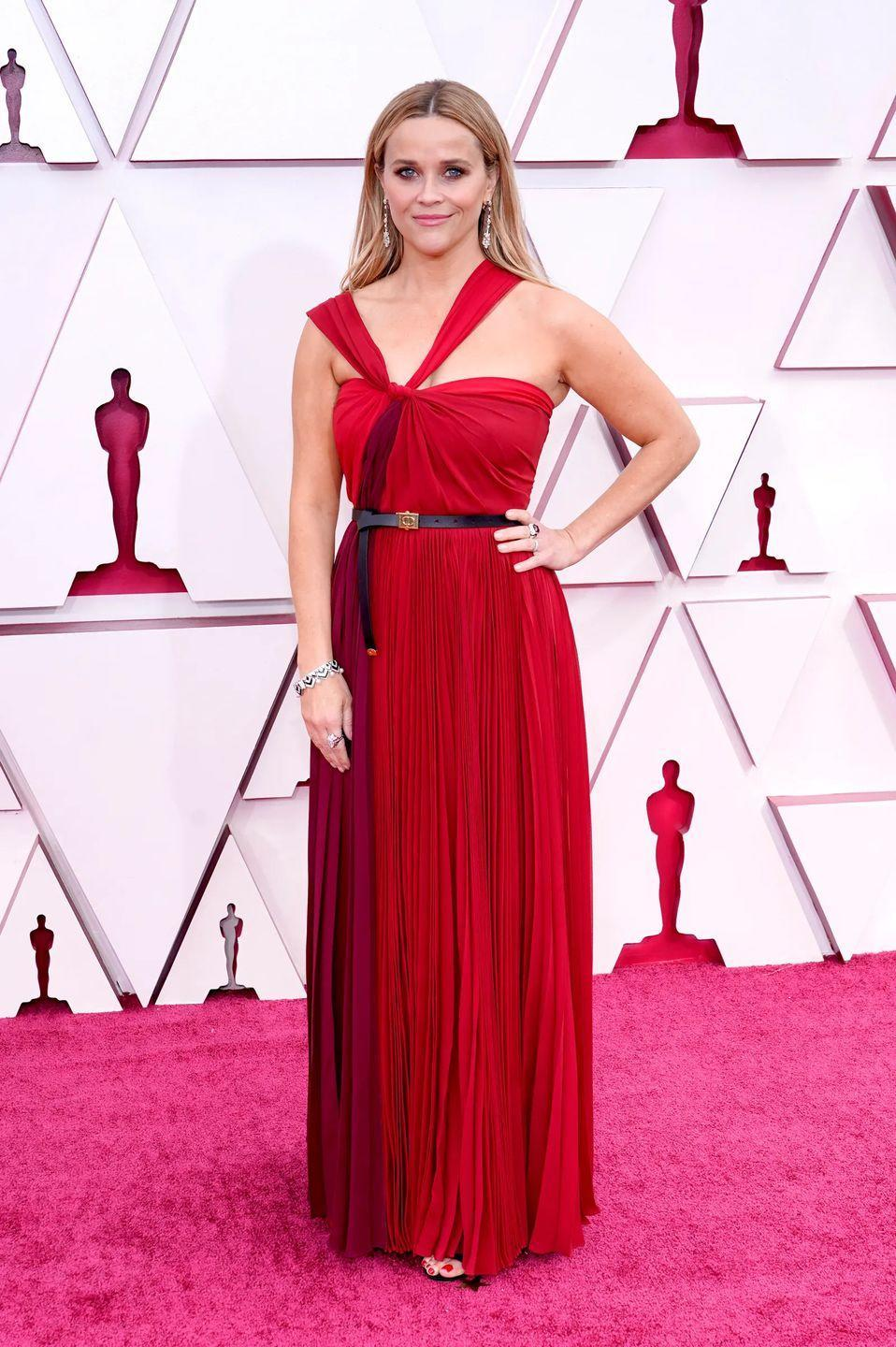 <p>Reese Witherspoon in Dior.</p>