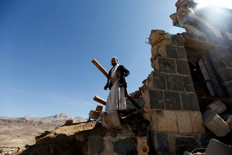 A Saudi-led coalition began air strikes in Yemen in March 2015 in support of the internationally recognised government in its fight against Iran-backed Huthi rebels