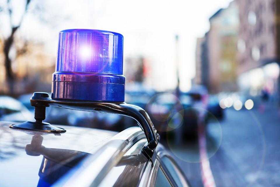 Police light on a parking civil car of the german police (Photo: fhm via Getty Images)