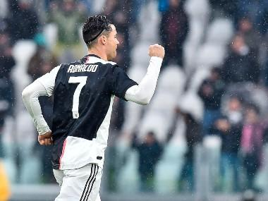 Serie A: Ronaldo rescues point for Juventus against Sassuolo; Lautaro Martinez's brace helps Inter Milan reach top