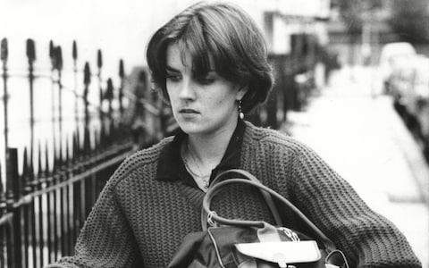 Mary Parkinson, pictured in 1983 - Credit: Keith Waldegrave/REX/Shutterstock