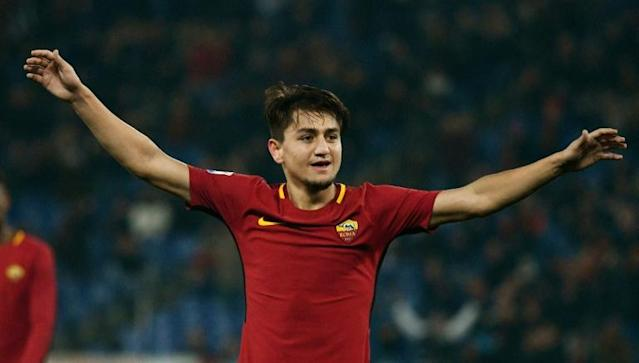 Cengiz Under has scored four goals in his last three games for Roma