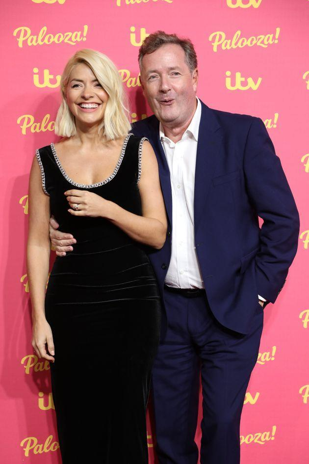 Holly Willoughby and Piers Morgan (Photo: Lia Toby via Getty Images)