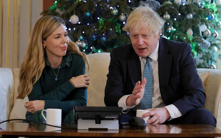 Carrie Symonds, Boris Johnson's fiancee, is involved with the decor changes, according to a report - ANDREW PARSONS
