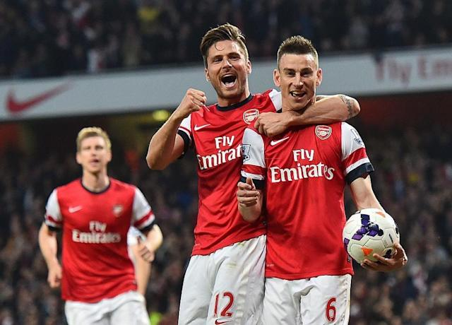 Giroud and Koscielny