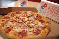 "<p>""At Dominos, don't order the Philly steak or American cheese, it's only used on the sandwiches and one specialty pizza so it usually goes bad and we have to throw it out often."" — <a href=""https://www.reddit.com/r/AskReddit/comments/4c2hat/fast_food_workerswhat_should_we_never_order_from/d1ep8ds/"" rel=""nofollow noopener"" target=""_blank"" data-ylk=""slk:whyamiupattwoam"" class=""link rapid-noclick-resp""><em>whyamiupattwoam</em></a></p>"
