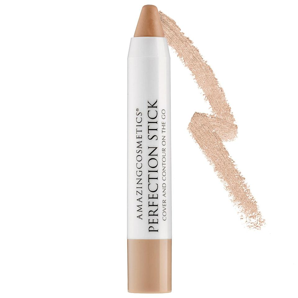 """<p><b>Star Rating:</b> 4.5 out of 5 <b>Key Selling Points:</b> This creamy, natural-looking pencil provides great spot coverage—just dot on where you need it and blend. The precise tip also makes swiping along your bone structure for contouring and highlighting a breeze. <b>What Customers Say:</b> """"I love the fact that this concealer is light and blendable. Especially if you are using this for quick coverage it goes on nice a smooth and not thick or cakey.""""—<a rel=""""nofollow"""" href=""""http://reviews.sephora.com/8723abredes/1150332840/profile.htm?mbid=synd_yahoobeauty"""">allthingsgirlyy</a></p>"""