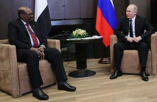 <p>In Russia, Sudan's Bashir asks Putin for 'protection' from US</p>