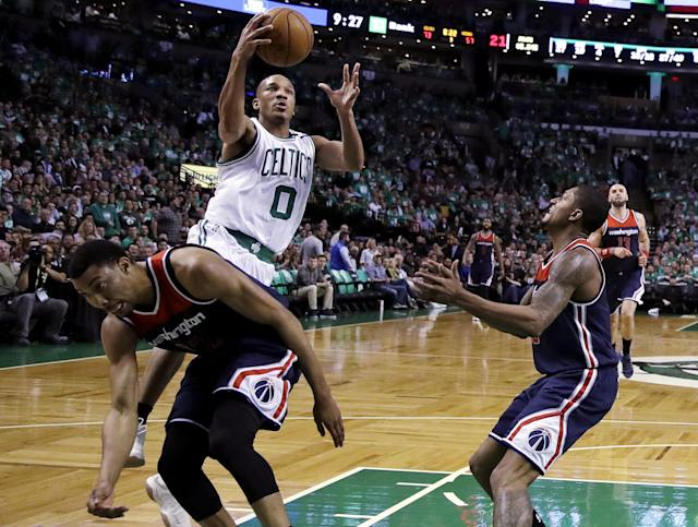 The underrated Avery Bradley had 29 points in Game 5. (AP)