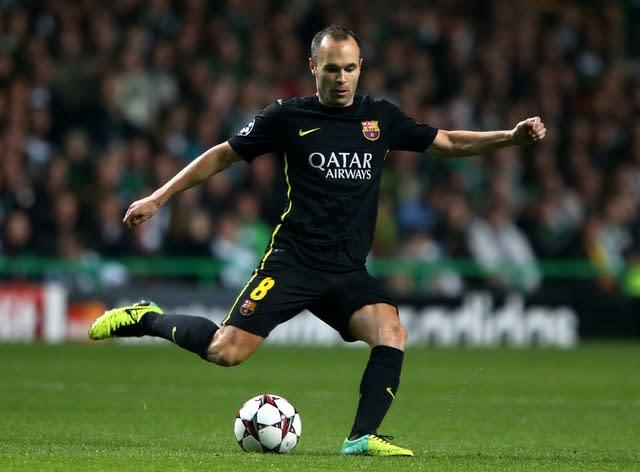 Fernandes says he is inspired by Andres Iniesta (Andrew Milligan/PA)